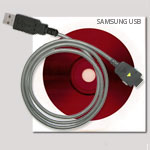 Дата-кабель для Samsung D100 (USB-Flash)
